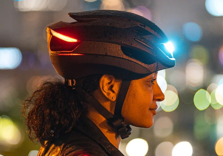 helmet with headlights
